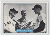 Mickey Mantle, Roy Mantle, Ray Mantle