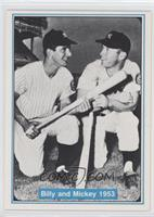 Billy Martin, Mickey Mantle