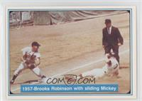 Mickey Mantle, Brooks Robinson