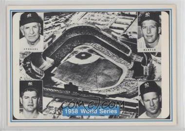 1982 ASA The Mickey Mantle Story - [Base] #36 - Mickey Mantle, Bob Turley, Casey Stengel, Whitey Ford