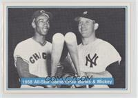 Ernie Banks, Mickey Mantle