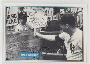 1982 ASA The Mickey Mantle Story - [Base] #54 - Mickey Mantle