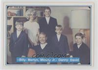 Mickey Mantle, Billy Mantle, Merlyn Mantle, Mickey Mantle Jr., Danny Mantle, Da…