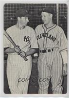 Joe DiMaggio, Bob Feller