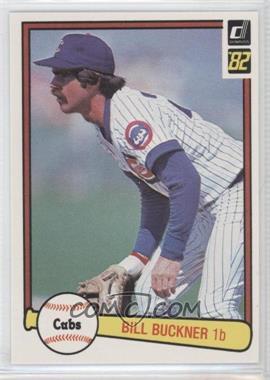1982 Donruss - [Base] #403 - Bill Buckner - Courtesy of COMC.com