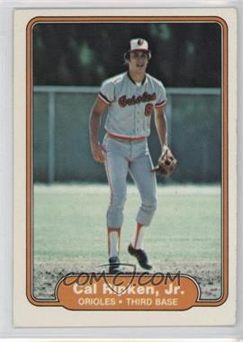 1982 Fleer - [Base] #176 - Cal Ripken Jr.