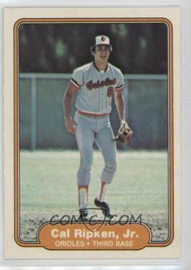 1982 Fleer - [Base] #176 - Cal Ripken Jr.
