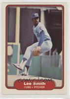 Lee Smith (Cubs Logo Correct on Back)
