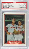 Johnny Bench, Tom Seaver [PSA 8 NM‑MT]