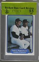 Yankee Powerhouse (Jackson & Winfield) (No Comma after outfielder on back) [BRC…