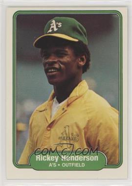 1982 Fleer - [Base] #92 - Rickey Henderson