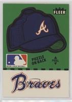 Atlanta Braves Hat (Puzzle on Back)