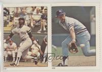 Willie Randolph, George Brett [Good to VG‑EX]