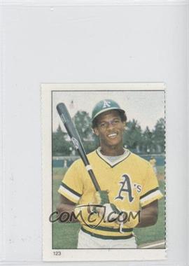 1982 Fleer Stamps - [Base] #123 - Rickey Henderson