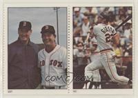 Ted Williams & Carl Yastrzemski, Kirk Gibson [EXtoNM]
