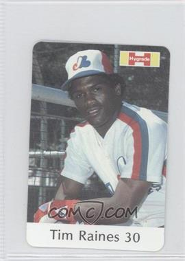 1982 Hygrade Meats Montreal Expos - [Base] #30 - Tim Raines