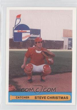 1982 Indianapolis Indians Team Issue - [Base] #22 - Steve Christmas