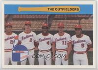 The Outfielders (Gary Redus, Gil Kubski, Dallas Williams, Duane Walker, Orlando…