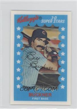 1982 Kellogg's 3-D Super Stars - [Base] #2 - Bill Buckner - Courtesy of COMC.com
