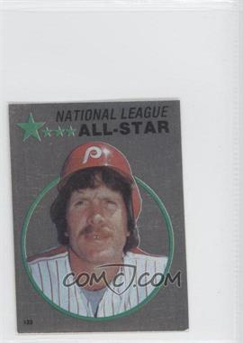 1982 O-Pee-Chee Album Stickers - [Base] #123 - Mike Schmidt