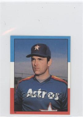 1982 O-Pee-Chee Album Stickers - [Base] #13 - Nolan Ryan