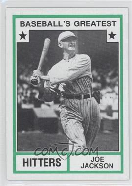 1982 TCMA Baseball's Greatest - Hitters - Tan Back #1982-16 - Joe Jackson