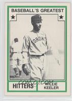 Willie Keeler (No MLB Logo)