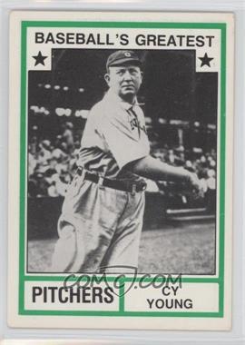 1982 TCMA Baseball's Greatest - Pitchers - White Back #1982-16 - Cy Young
