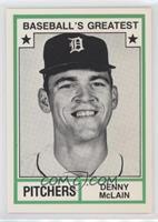 Denny McLain (No MLB Logo)