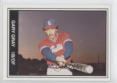 1982 TCMA Minor League - [Base] #218 - Gary Gray