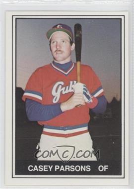 1982 TCMA Minor League - [Base] #224 - Casey Parsons