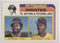 Bill Madlock, Buddy Solomon