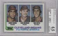 Chris Bando, Tom Brennan, Von Hayes [BGS6.5]