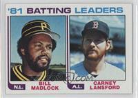 Bill Madlock, Carney Lansford