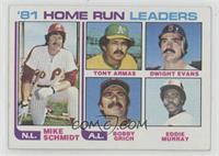 Mike Schmidt, Tony Armas, Dwight Evans, Bobby Grich, Eddie Murray [EXto&n…