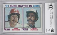 Eddie Murray, Mike Schmidt [ENCASED]