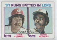 Eddie Murray, Mike Schmidt [Good to VG‑EX]