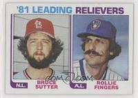 Bruce Sutter, Rollie Fingers
