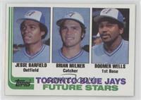 Jesse Barfield, Brian Milner, Boomer Wells