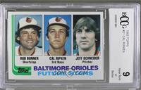 Bobby Bonner, Cal Ripken Jr., Jeff Schneider [BCCGNearMint]