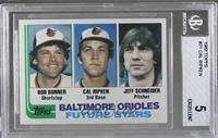 Bobby Bonner, Cal Ripken Jr., Jeff Schneider [BGS5]