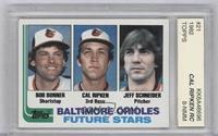 Bobby Bonner, Cal Ripken Jr., Jeff Schneider [ENCASED]