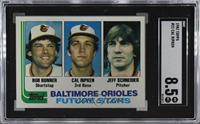 Bobby Bonner, Cal Ripken Jr., Jeff Schneider [SGC 92 NM/MT+ 8.5]