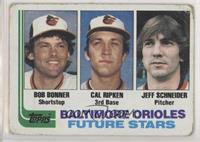 Bobby Bonner, Cal Ripken Jr., Jeff Schneider [Poor to Fair]