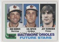 Future Stars - Bobby Bonner, Cal Ripken Jr., Jeff Schneider