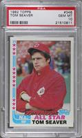 Tom Seaver (tied end of fifth line) [PSA10]