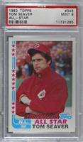 Tom Seaver (t ed end of fifth line) [PSA 9 MINT]