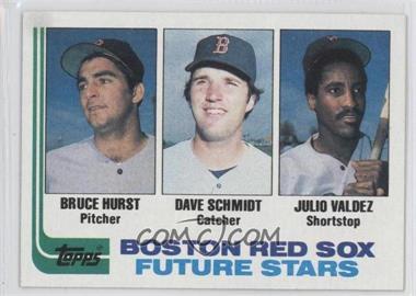1982 Topps - [Base] #381 - Bruce Hurst, Dave Schmidt, Julio Valdez