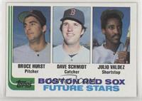 Future Stars - Bruce Hurst, Dave Schmidt, Julio Valdez