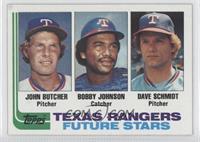 John Butcher, Bobby Johnson, Dave Schmidt